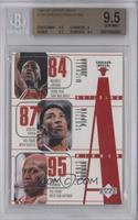Michael Jordan, Scottie Pippen, Dennis Rodman, Toni Kukoc, Ron Harper [BGS&nbsp…