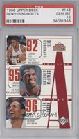 LaPhonso Ellis, Antonio McDyess, Mark Jackson, Dale Ellis, Bryant Stith [PSA&nb…