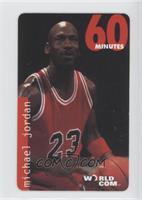 Michael Jordan ((ball at waist, red uniform))