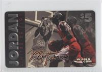Michael Jordan (horizontal, jumping, ball at waist) /50100