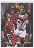Marcus Camby, Moses Malone