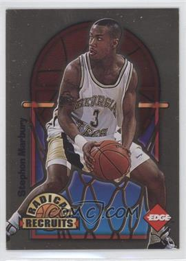 1996 Edge Radical Recruits Gold #12 - Stephon Marbury /1000