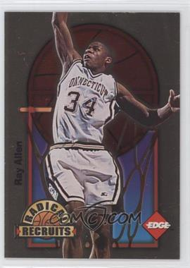 1996 Edge Radical Recruits Gold #2 - Ray Allen /1000