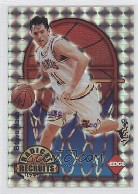 1996 Edge Radical Recruits Holofoil #14 - Steve Nash /2500