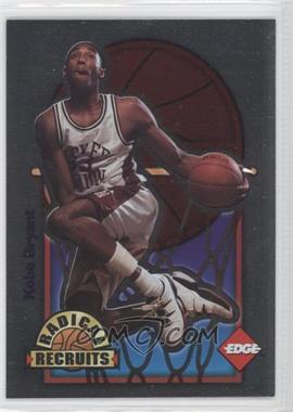 1996 Edge Radical Recruits #3 - Kobe Bryant /6750
