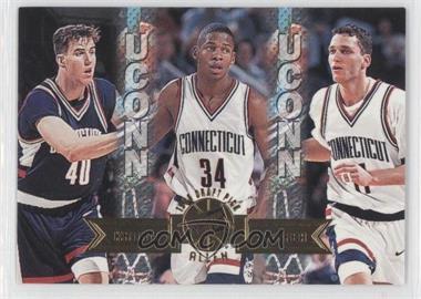 1996 Press Pass - [Base] #39 - Travis Knight, Ray Allen, Doron Sheffer