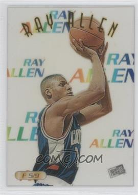 1996 Press Pass Acetates #F 5 - Ray Allen