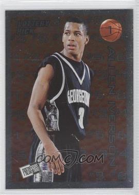 1996 Press Pass Lottery Pick #L1 - Allen Iverson