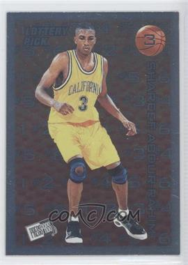 1996 Press Pass Lottery Pick #L3 - Shareef Abdur-Rahim