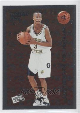 1996 Press Pass Lottery Pick #L4 - Stephon Marbury