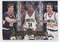 Travis Knight, Ray Allen, Doron Sheffer