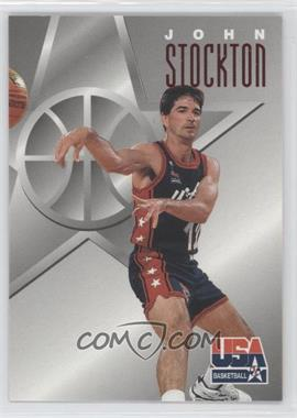 1996 Skybox Texaco USA Basketball - [Base] #12 - John Stockton