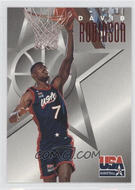 1996 Skybox Texaco USA Basketball #10 - David Robinson