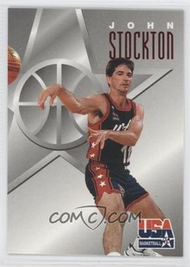 1996 Skybox Texaco USA Basketball #12 - John Stockton