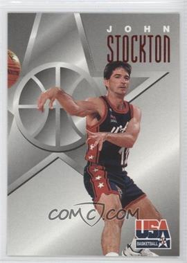 1996 Skybox Texaco USA Basketball #12 - John Stockton