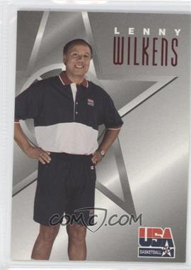 1996 Skybox Texaco USA Basketball #13 - Lenny Wilkens