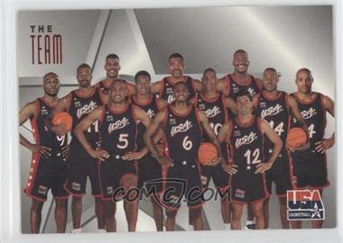 1996 Skybox Texaco USA Basketball #14 - Team USA (Olympics) Team