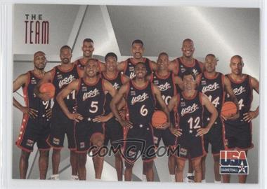 1996 Skybox Texaco USA Basketball #14 - Team USA (Olympics) Team