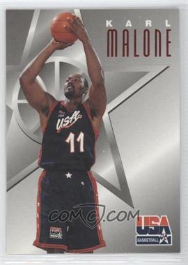 1996 Skybox Texaco USA Basketball #4 - Karl Malone