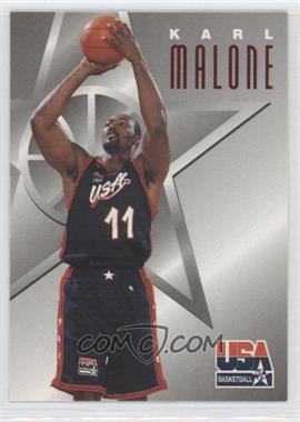 1996 Skybox Texaco USA Basketball #4 - Karl Malone