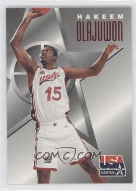 1996 Skybox Texaco USA Basketball #6 - Hakeem Olajuwon