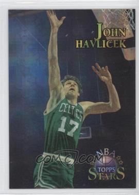 1996 Topps Stars - [Base] - Atomic Refractor #20 - John Havlicek