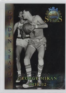 1996 Topps Stars - [Base] - Atomic Refractor #80 - George Mikan