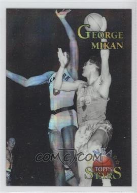 1996 Topps Stars Atomic Refractor #130 - George Mikan