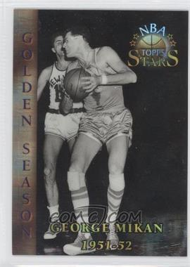 1996 Topps Stars Atomic Refractor #80 - George Mikan