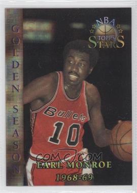 1996 Topps Stars Atomic Refractor #81 - Earl Monroe