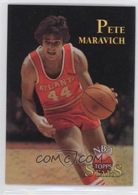1996 Topps Stars Finest Refractor #128 - Pete Maravich