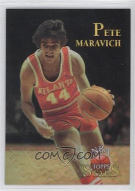 1996 Topps Stars Finest Refractor #128 - Pete Maravich