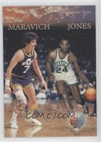 Pete Maravich, Sam Jones