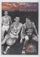 John Stockton, Bob Cousy