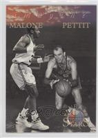 Karl Malone, Bob Pettit
