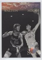 Bill Walton, George Mikan