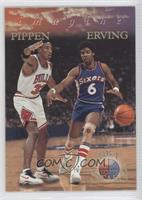 Scottie Pippen, Julius Erving