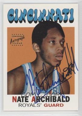 1996 Topps Stars Reprints Autographs [Autographed] #29 - Nate Archibald