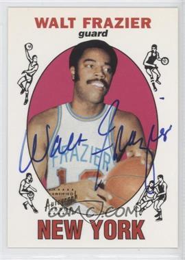 1996 Topps Stars Reprints Autographs [Autographed] #98 - Walt Frazier
