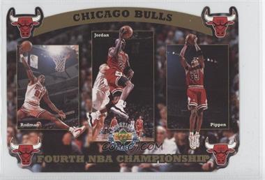 1996 Upper Deck Authenticated #N/A - Chicago Bulls Team /10000
