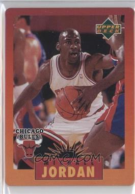 1996 Upper Deck Metal Michael Jordan - Tin Set Red/Orange Border #3 - Michael Jordan