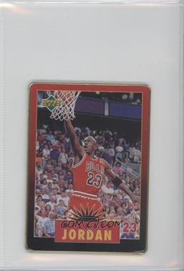 1996 Upper Deck Metal Michael Jordan [???] #2 - Michael Jordan