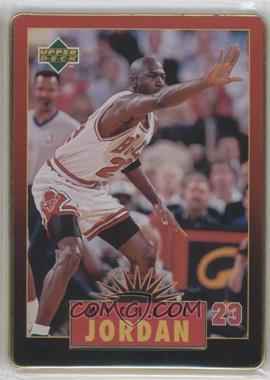 1996 Upper Deck Metal Michael Jordan [???] #4 - Michael Jordan