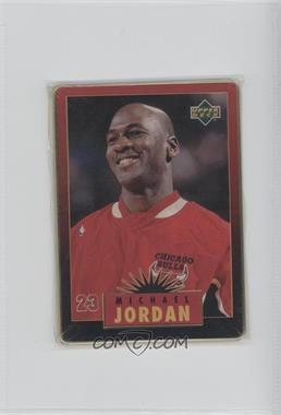 1996 Upper Deck Metal Michael Jordan Tin Set Red/Black Bordered #1 - Michael Jordan