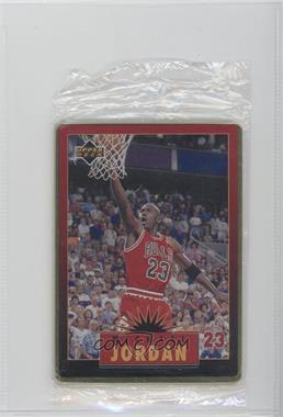 1996 Upper Deck Metal Michael Jordan Tin Set Red/Black Bordered #2 - Michael Jordan