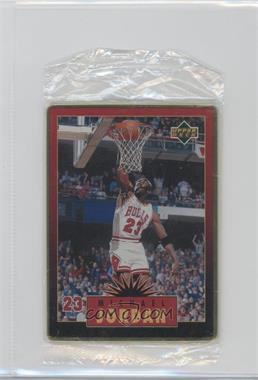 1996 Upper Deck Metal Michael Jordan Tin Set Red/Black Bordered #3 - Michael Jordan