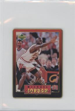 1996 Upper Deck Metal Michael Jordan Tin Set Red/Black Bordered #4 - Michael Jordan