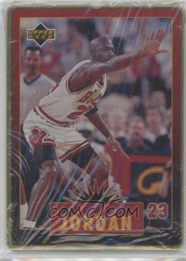 1996 Upper Deck Metal Michael Jordan Tin Set Red/Black Bordered #4 - Michael Jordan