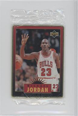 1996 Upper Deck Metal Michael Jordan Tin Set Red/Black Bordered #5 - Michael Jordan