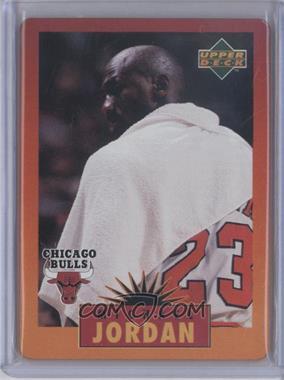 1996 Upper Deck Metal Michael Jordan Tin Set Red/Orange Border #4 - Michael Jordan